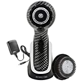 Michael Todd Soniclear Elite Antimicrobial Facial Cleansing Brush System, 6-Speed Sonic Powered Exfoliating Face Brush & Body Brush