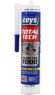 ceys Ms-Tech 290 ml, Blanco 507216, 0