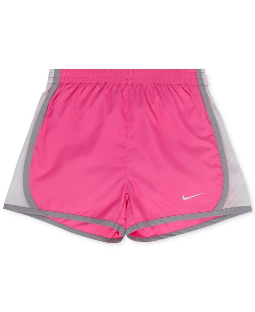Nike Girls Performance Shorts (4, Pink Power) by Nike