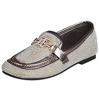 ... De Diamantes De Imitación Zapatos Retro De Conducción Zapatos Perezosos De Guisantes Zapatos Mocasines Para Barcos: Amazon.es: Ropa y accesorios