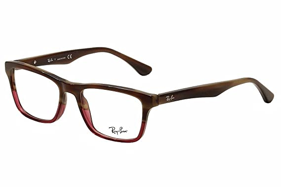 e03435b790b34 Amazon.com  Ray-Ban Vista RX 5279 5541 Eyeglasses Brown Horn Grad ...