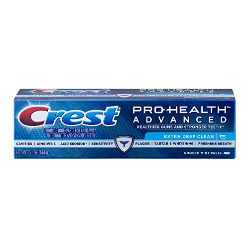 Crest Pro-Health Advanced Extra Deep Clean Toothpaste, 5.1 oz (Pack of 3)