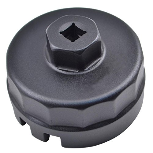 64mm Oil Filter Cap Wrench For Toyota Camry Corolla Highlander RAV4 Lexus Scion (Nut Vw Remover Lug Cap)