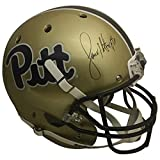 Larry Fitzgerald Autographed Pittsburgh Panthers Signed Full Size Football Helmet JSA COA