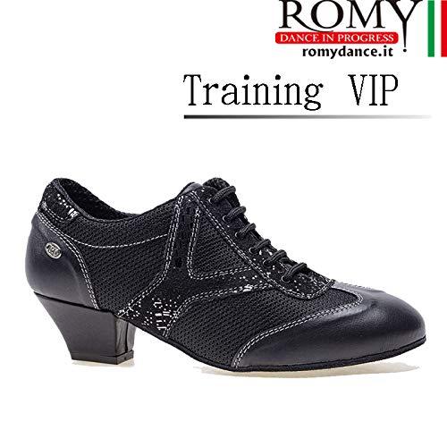 (ロミーダンス)ROMY dance「Training VIP(レディース トレーニング シューズ)」 女性 レディース シューズ ダンス 社交ダンス ラテン スタンダード B07PJ3RK89  37(23cm)