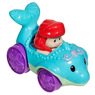 Fisher-Price Little People Disney Wheelies Ariel: Toys & Games