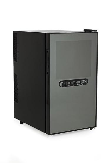 AMSTYLE Design Minikühlschrank Weinkühlschrank 48 Liter - 18 ...