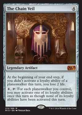 Magic: the Gathering - The Chain Veil (215/269) - Magic 2015 by Magic: the Gathering