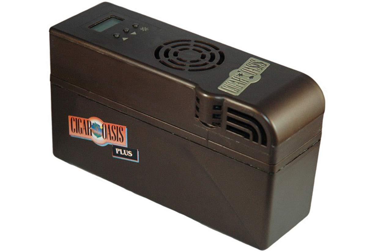 Electric cigar humidifier (Oasis Plus Model) Good for 1000 cigars or up to 10 cubic feet area