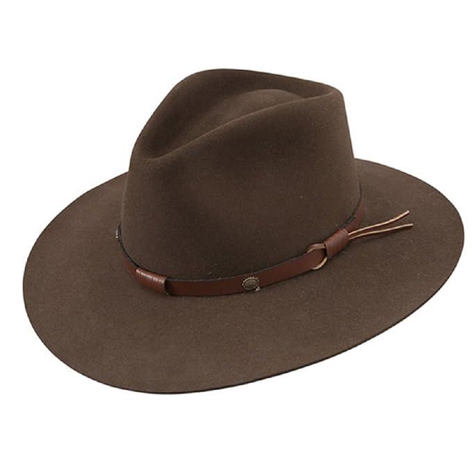 5d7c85c33bf04 Stetson - Sombrero de vaquero de fieltro de pelo de hombre 5 x Catera  sfctra-403212 corteza  Amazon.es  Ropa y accesorios