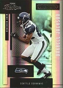 2004 Playoff Prestige Xtra Points Black #128 Darrell Jackson /25 - NM-MT
