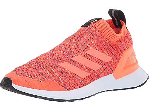 adidas Unisex RapidaRun LL Knit Running Shoe Active Orange/hi-res Coral/Collegiate Royal 3.5 M US Big Kid (Orange Adidas Baby)