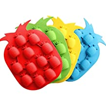 1 Piece Random Color Pineapple Shape Ice Cream Form Baking Mold Ice Cube Tray Chocolate Mold