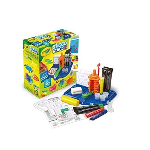 Crayola, Cling Creator, Art Activity, Make up to 20 Customized Clings, Easy Color Mixing, Sticks on Windows, Mirrors and Flat...