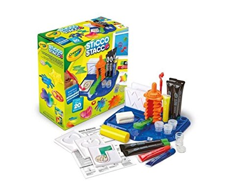 - Crayola, Cling Creator, Art Activity, Make up to 20 Customized Clings, Easy Color Mixing, Sticks on Windows, Mirrors and Flat Surfaces