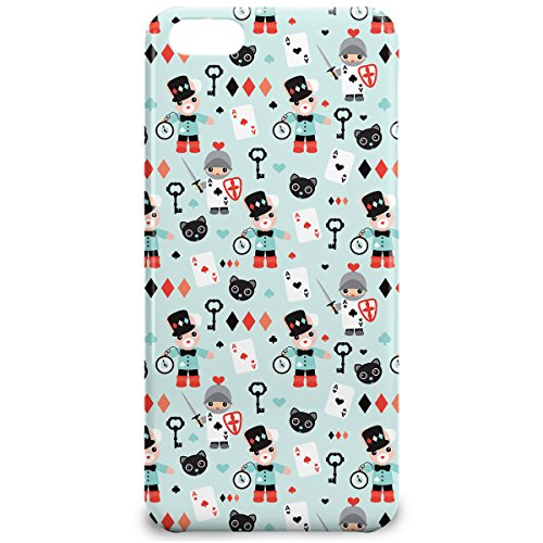 Phone Case For Apple iPhone 5C - Alice In Wonderland Friends Glossy Wrap-Around