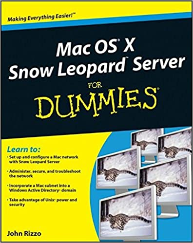 Mac OS X Snow Leopard Server For Dummies: 9780470450369: Computer ...