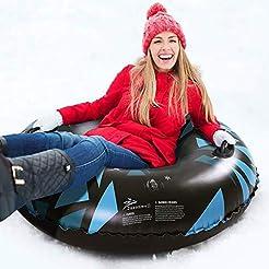 Jasonwell Snow Tube - 47 Inch Inflatable...