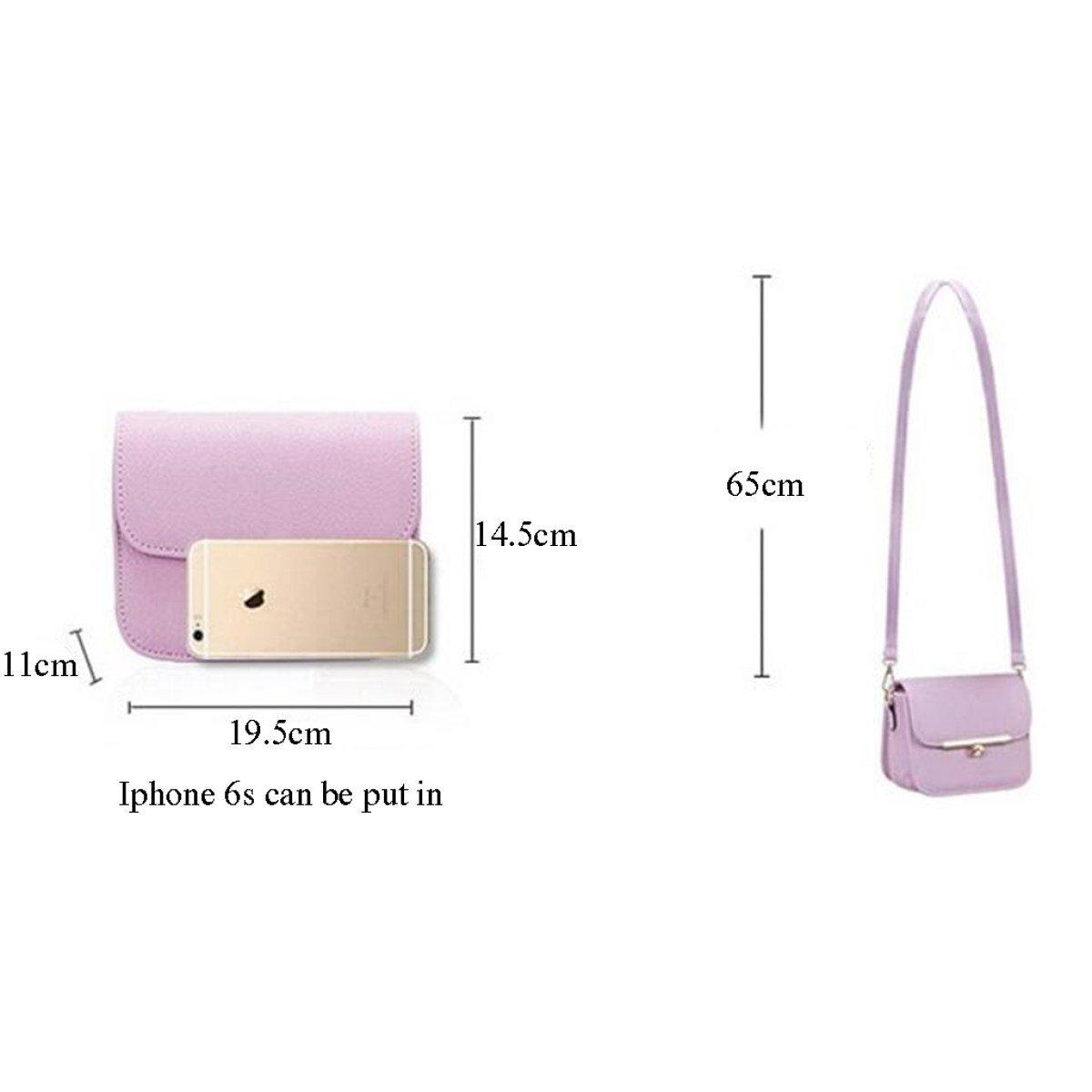 MERRYHE Frauen Clutch PU Leder Mini Schulter Handtaschen Crossbody Taschen Taschen Taschen Einfache Vintage Messenger Bag Für Damen Damen Mädchen B07C3MJNS9 Schultertaschen Qualität b670a0