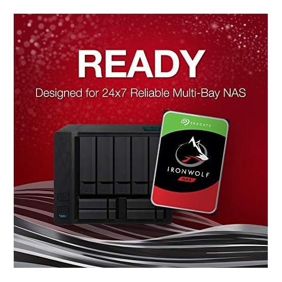 Seagate IronWolf 1TB NAS Internal Hard Drive HDD – CMR 3.5 Inch SATA 6Gb/s 5900 RPM 64MB Cache for RAID Network Attached… 51ziMfBU3QL. SS555