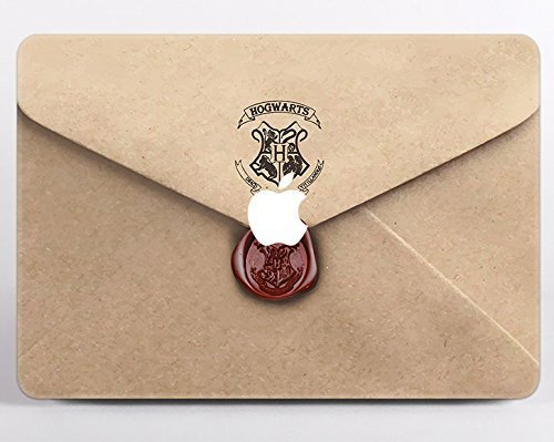 Harry Potter Owl Post Hogwarts Letter Of Acceptance MacBook Pro 13 Case A1706 A1708 NEWEST Release 2017 2016 With Without Touch Bar Deathly Hallows