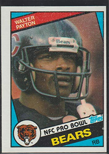 (1984 Topps Walter Payton Bears Pro Bowl Football Card #228)