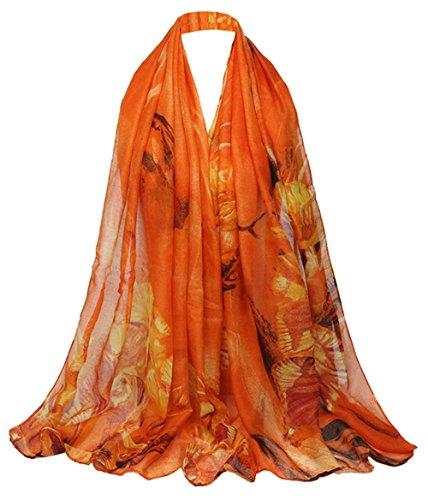 Mujer bufanda Todo Bufanda Impresi 5 xAqvSgB