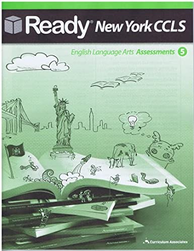 Amazon Com Ready New York Ccls Ela Assessments Grade 5 With Answer Key Everything Else