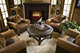 MagikFlame Electric Fireplace and Mantel - Artemis