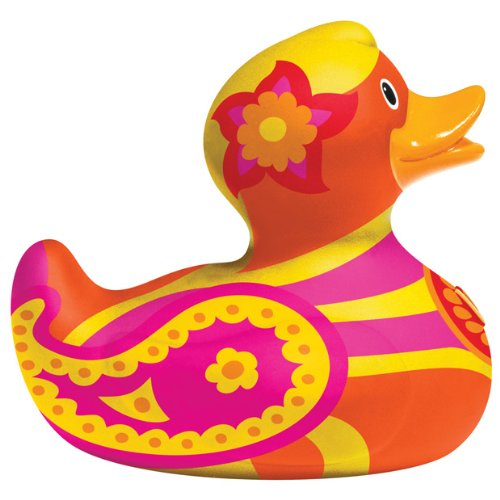 Duck Luxury Rubber Duck - BUD Luxury Rubber Duck Bathtub Toy, Summer Summer