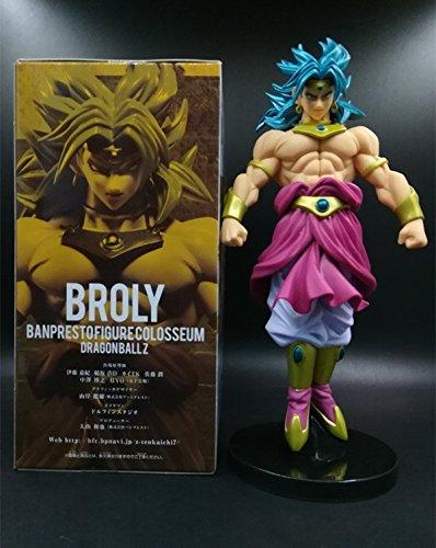 Broli Blue Dragon Ball Japanese Anime Figures Action Toy Figures Vegeta Kakarotto Pvc Model Collection For Best Birthday Gift