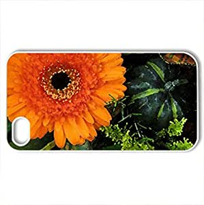 Autumn Country Bouquet - Case Cover for iPhone 4 and 4s (Watercolor style, White)