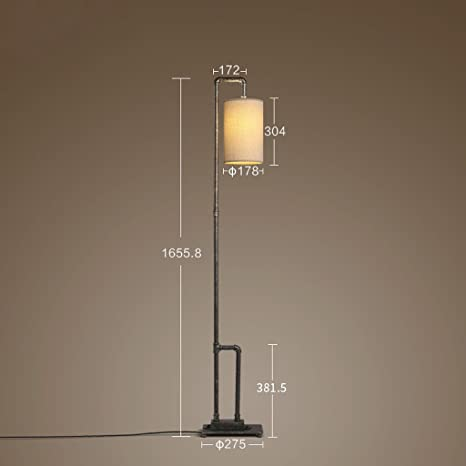 Amazon.com: MOM Long Pole Floor Lamp,Led Creative Industrial ...