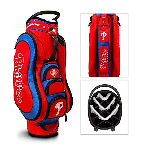 Team Golf Golf Bag - Team Golf MLB Philadelphia Phillies Medalist Golf Cart Bag