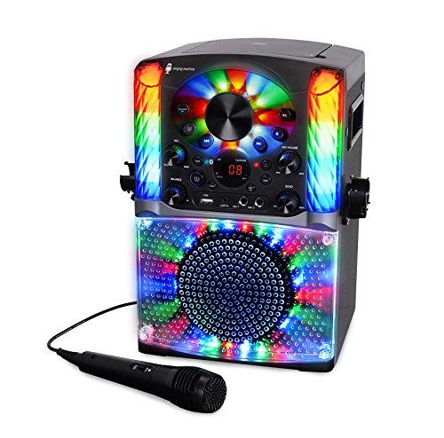Singing Machine SML625BTBK Bluetooth CD+G Karaoke System Black by Singing Machine (Image #2)