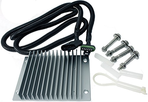 Driver Pump Kit (APDTY 015224 Fuel Pump Driver Module PMD FSD Relocation Kit For GM 6.5L Diesel (Includes Oversized Heat Sink, 65 Inch Wiring Harness Extension For Use With APDTY 015215 or GM 19209057))