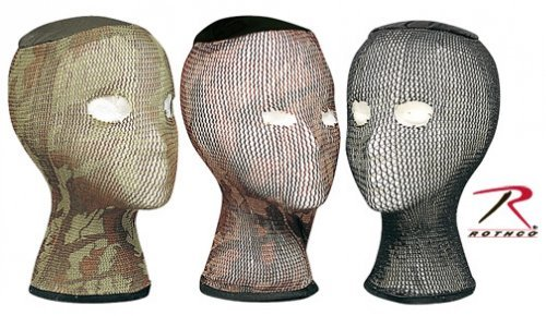 Spandoflage Head Nets (Green Camo) (Head Turkey Net)