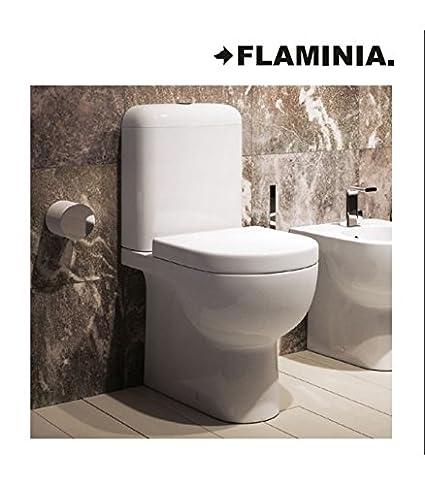Sanitari Flaminia Quick Vaso monoblocco QK116+QK39+QKCW02+BGMB ...