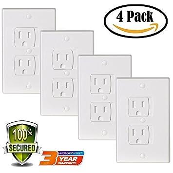Amazon.com: Universal Electric Outlet Cover bebé seguridad ...