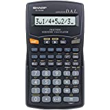Sharp El-503w-bk 11+2-digit Scientific Calculator 153 Functions El503w
