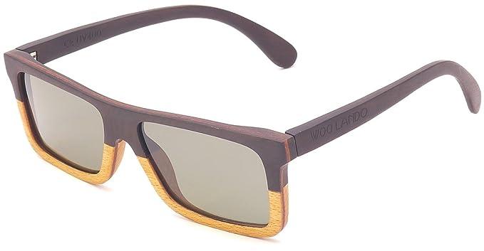 moderate Kosten langlebig im einsatz Qualität zuerst WOO LANDO - Unisex Ebenholz-Sonnenbrille, getönte G15 Gläser ...