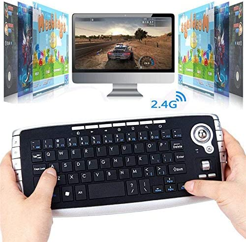 DP-iot HOT-Mini Wireless Mouse Keyboard 3 in 1 2.4G Wireless Keyboard//Air Mouse//Smart Tv Remote Controller Ergonomic Gaming Keybo