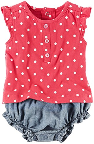 Carters Baby Girls Romper Dress