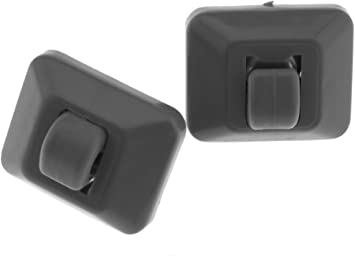2x Beige Car Inner Sun Visor Hanger Hook Clip For A1 A3 A4 A5 Q3 Q5 8E0857562A