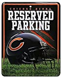 NFL Chicago Bears 8-Inch by 11-Inch Metal Parking Sign Décor