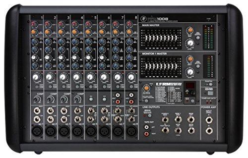 Mackie PPM1008 8-Channel 1600-Watt, Ultra-light Professional Powered Mixer by Mackie