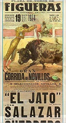 Cartel Taurino: GRAN CORRIDA DE NOVILLOS DE LA GANADERÍA DE ...