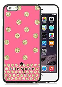 Personalized Popular Design iPhone 6plus Case Kate Spade New York Phone Case For iPhone 6plus 5.5 Inch TPU Cover Case 124 Black