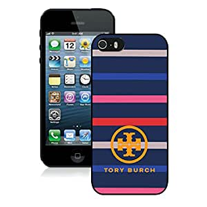 Popular Designed Phone Case For iPhone 5S With Tory Burch 02 Black Phone Case