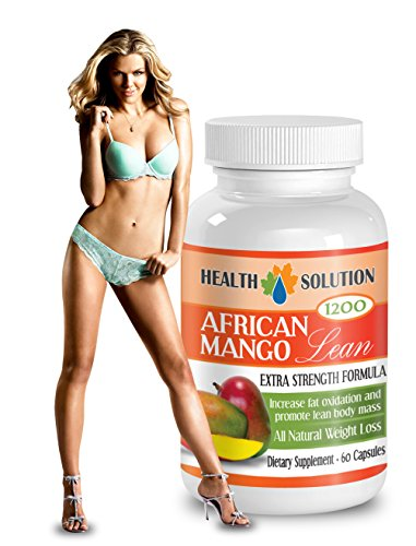 African Mango Extract - AFRICAN MANGO LEAN Extra strength Formula 1200mg - Weight Loss pills (1 Bottle 60 capsules)